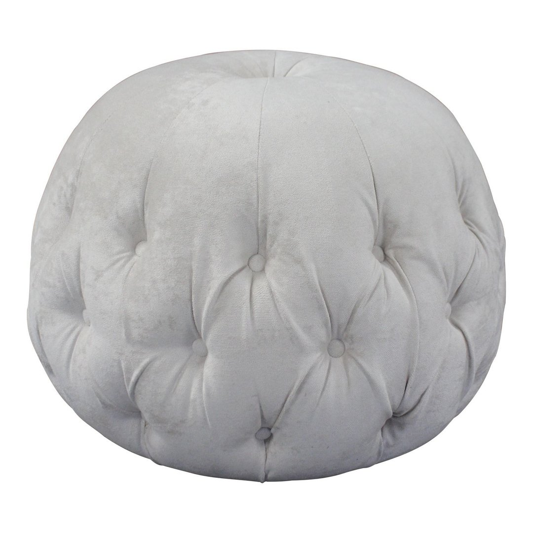 Chesterfield Deep buttoned Table Pod Footstool Beige